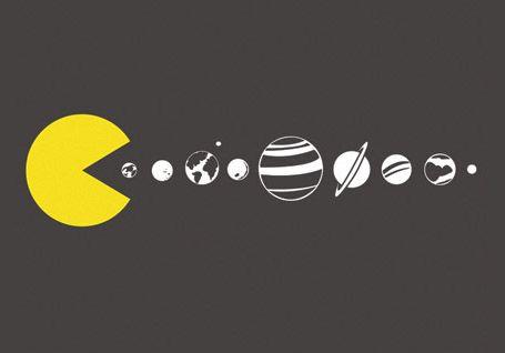 Solar Expansion Pacman Capa Facebook Capa Para Fecebook Capa