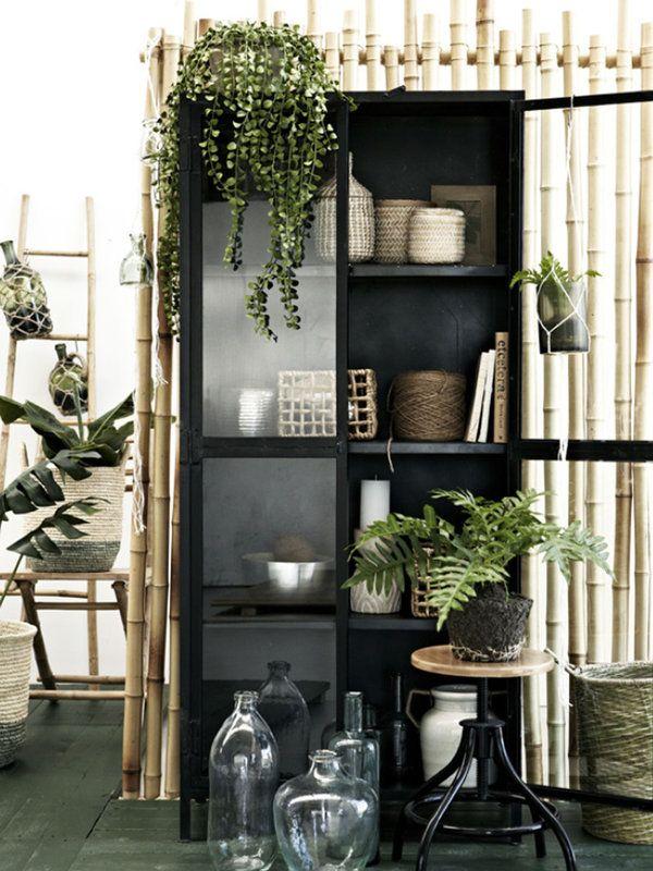 20 rincones con plantas dentro de casa jardines y for Casa cristina plantas artificiales