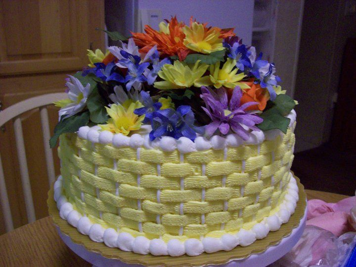 Basket Weave (With images)   Cake decorating, Sweet cakes