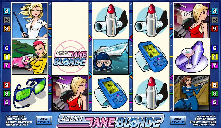 No Download Fun in the Agent Jane Blonde Slot