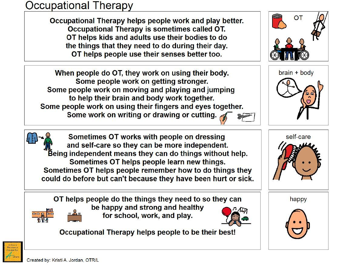 Occupational Therapy Narrative