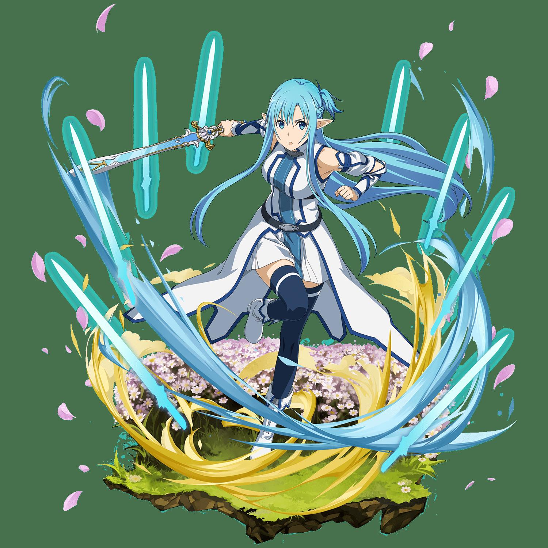 Swordsman Of Water Asuna Sword Art Online Asuna Sword Art Sword Art Online