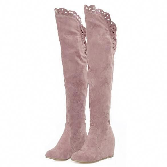 28a3cfebd45 Cheap Fashion Women Korean Over Knee High Long Boots Shoes Official Online   BuyInexpensiveShoesOnline