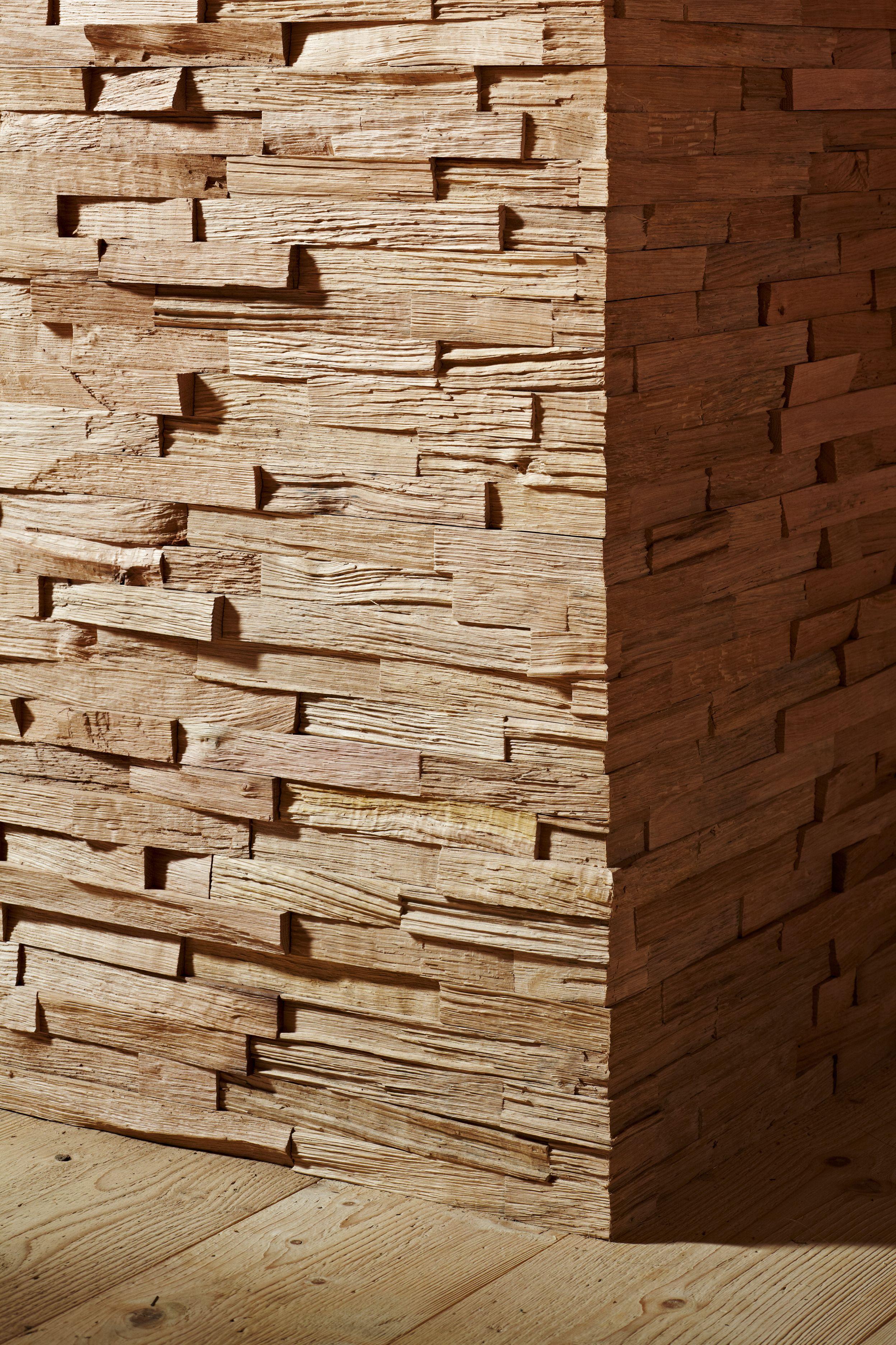 Wandverkleidung Holzoptik