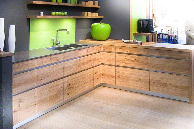 Messeküche Küche Beton Küche Massivholz Betonküche