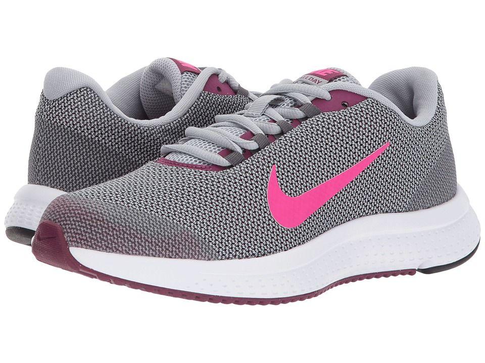 df40f9416940 Nike RunAllDay (Wolf Grey Deadly Pink Dark Grey) Women s Running Shoes