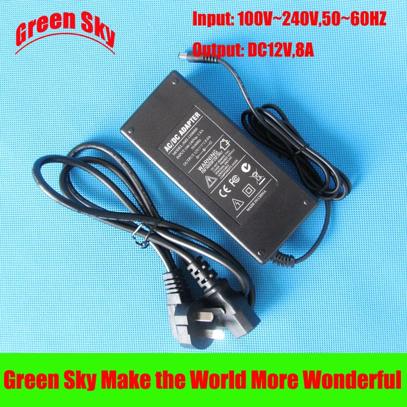 100v 240v Ac Input Dc Output 12v 8a Ac Dc Power Adapter Acdc Power Adapter Adapter