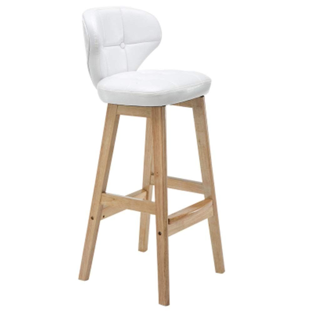 Bar Stools Retro Solid Wood Bar Chair Cafe High Stool Restaurant Stool Backrest Bar Chair Cashier Bar Counter Chair Ho In 2020 Retro Chair Restaurant Stools Shop Chair