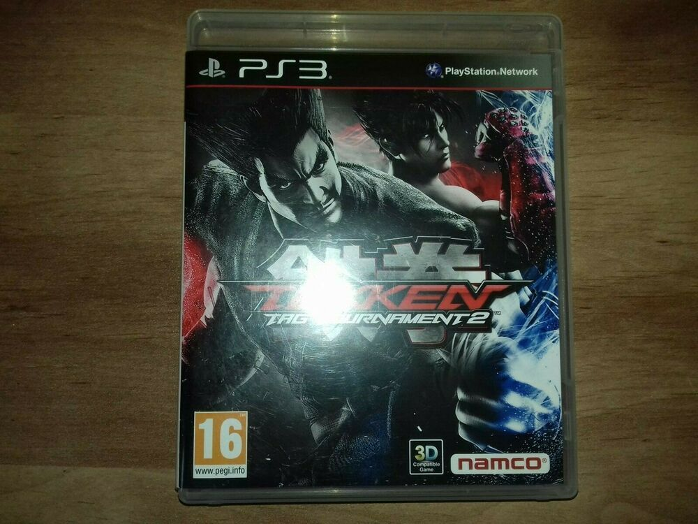 Tekken Tag Tournament 2 CIB #Namco | Tekken tag tournament ...