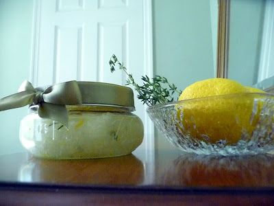 Life Tastes Good: Lemon & Thyme Sea Salt Scrub