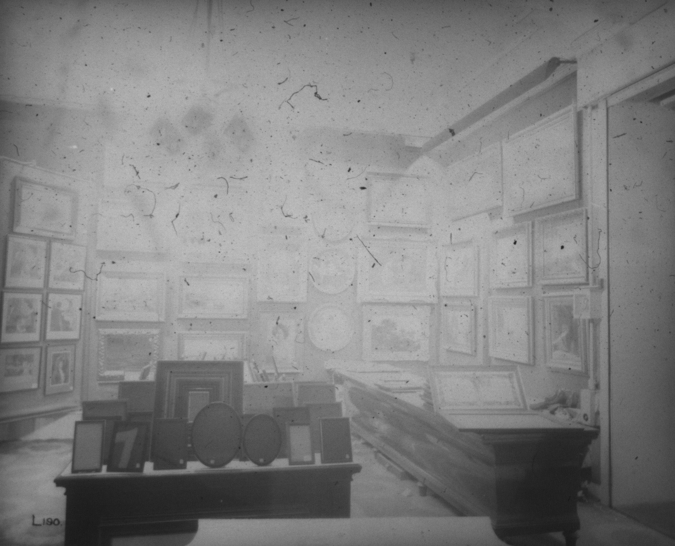 Selfridges Ltd, London, picture gallery, March 1912. IET Archives NAEST 074/04/0089