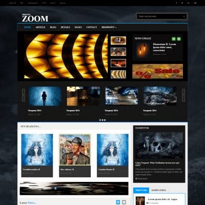 Adventure Adventure is a artist portfolio template, blogger template