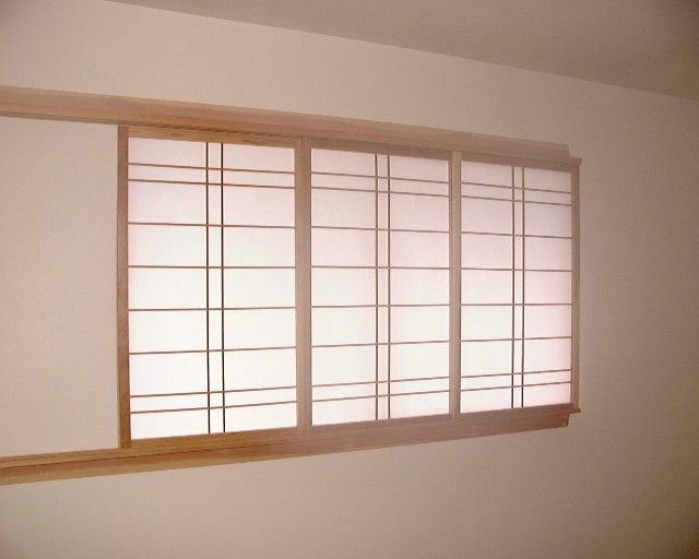 Asian inspired window coverings