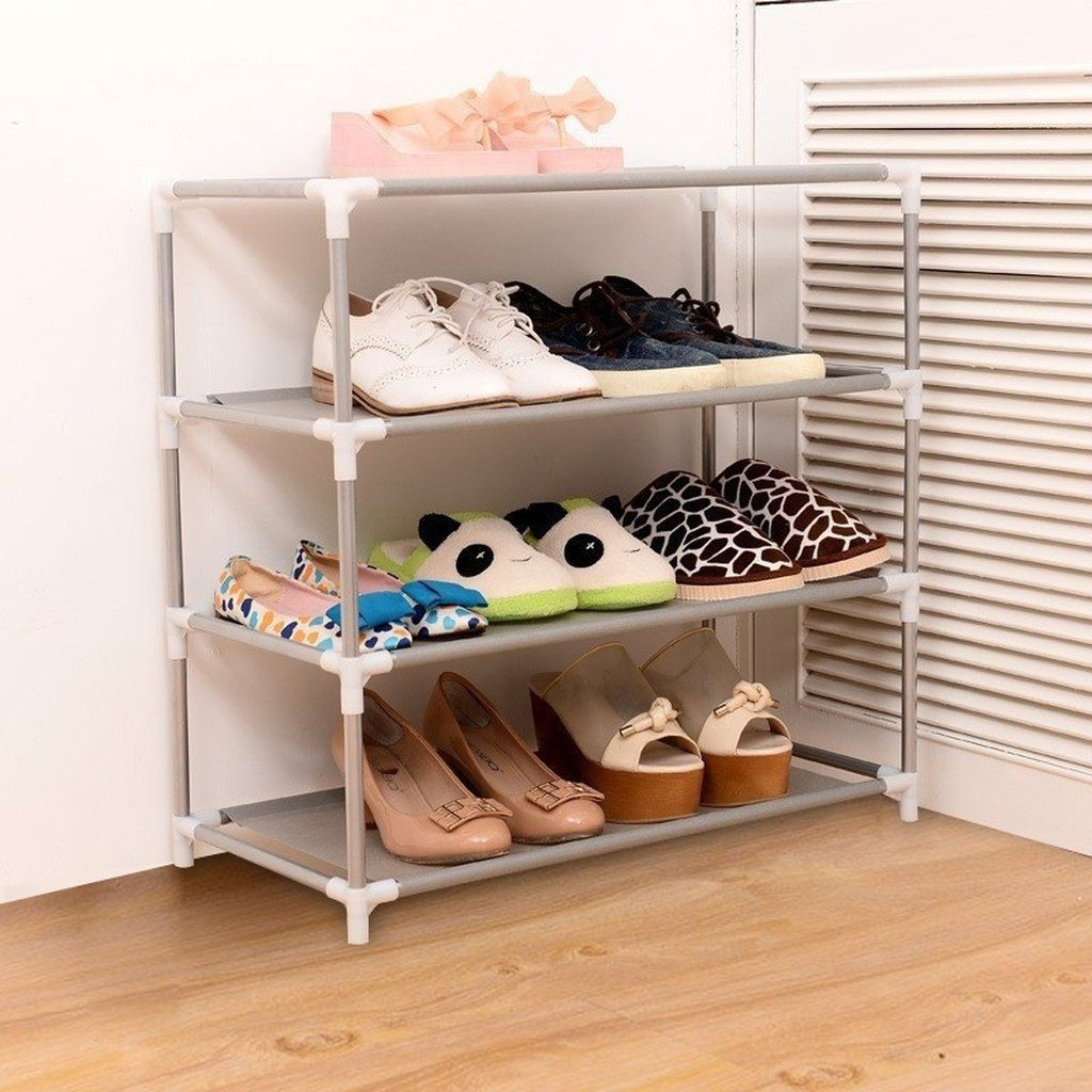 2 3 4 5 Layers Shoes Racks Free Storage Standing Organizer Portable Non Woven Large Capacity Furniture Shoes Cabinet Shelf Clos 2 3 4 5 Layers Shoes Racks Free Mobilier De Salon Idees Pour La Maison Dortoir