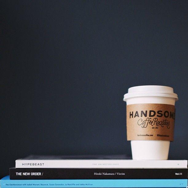 Wake up with Handsome Coffee Roasters #wanderingsole | Coffee fashion, Coffee, Joe coffee