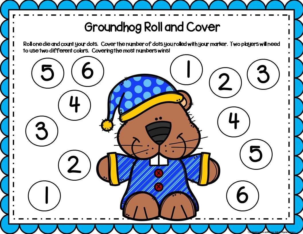 Groundhog Day Activities Amp Centers