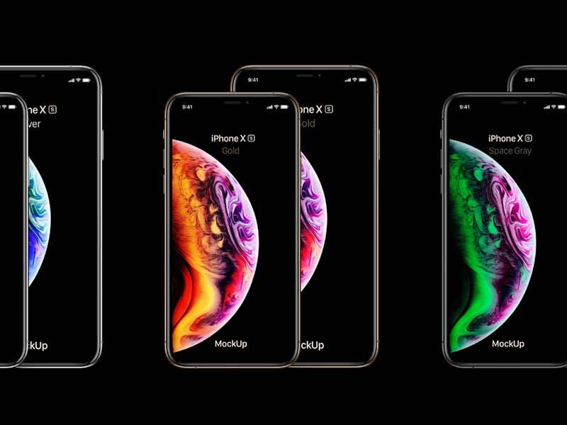 10+ iPhone XS, iPhone XS Max Mockup Free Download [PSD