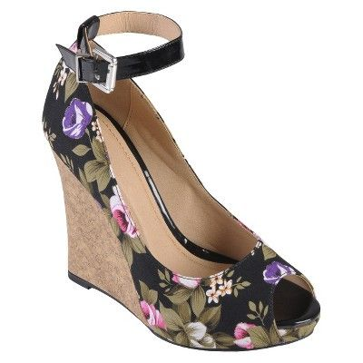 Womens' Journee Collection Peep Toe Ankle Strap... : Target Mobile