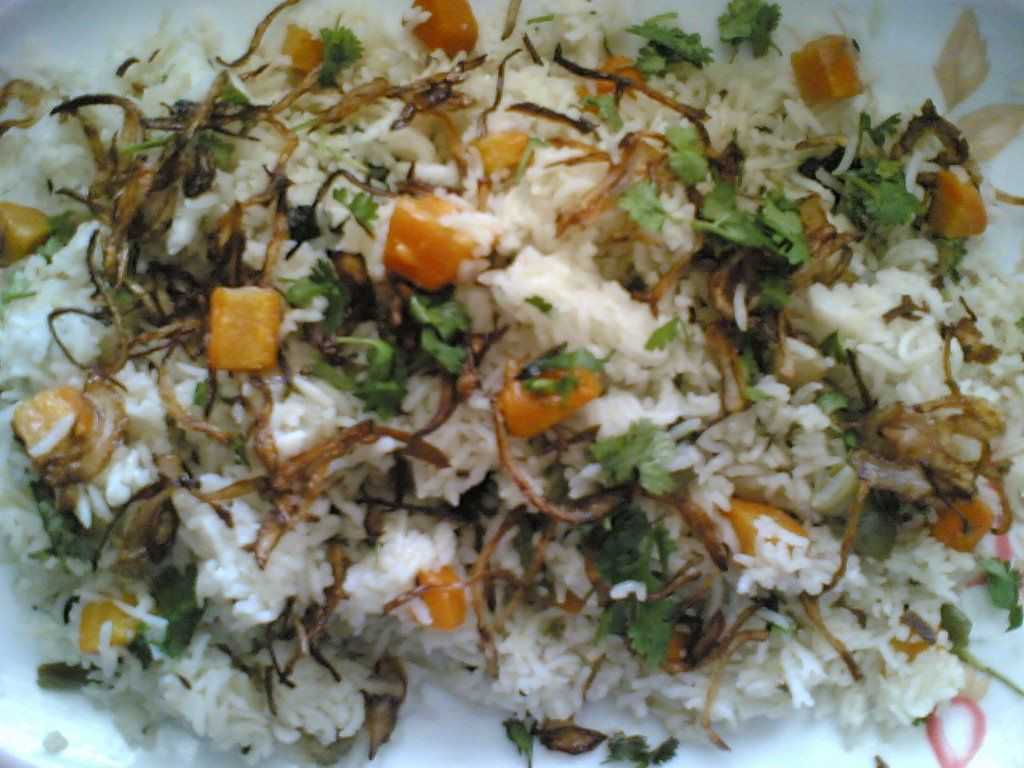 Andhra vegetable pulao veg pulao recipe aloo curry garam andhra vegetable pulao veg pulao forumfinder Image collections