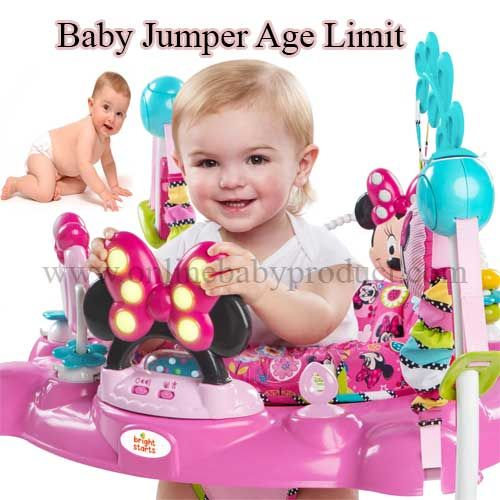 f3db9459b Baby Jumper Age Limit to Start Using for Babies Development