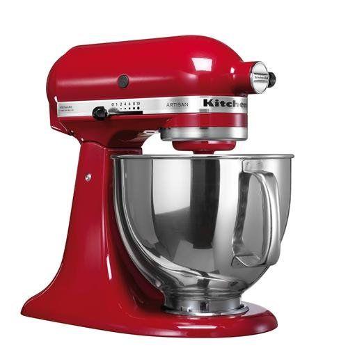 Kitchenaid Artisan Robot da Cucina Rosso Imperiale in offerta su ...