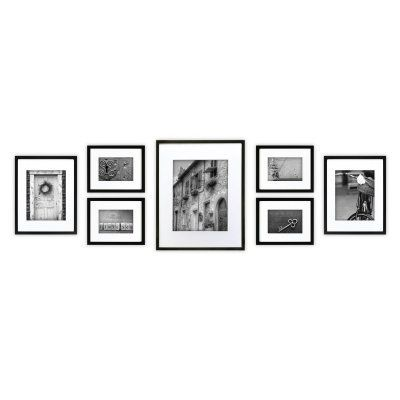 Nielsen Bainbridge Gallery Perfect Wall Picture Frame Kit - Set of 7 ...