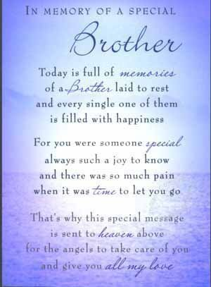 Image Result For Brother Quotes For Fathers Day Grief Brother