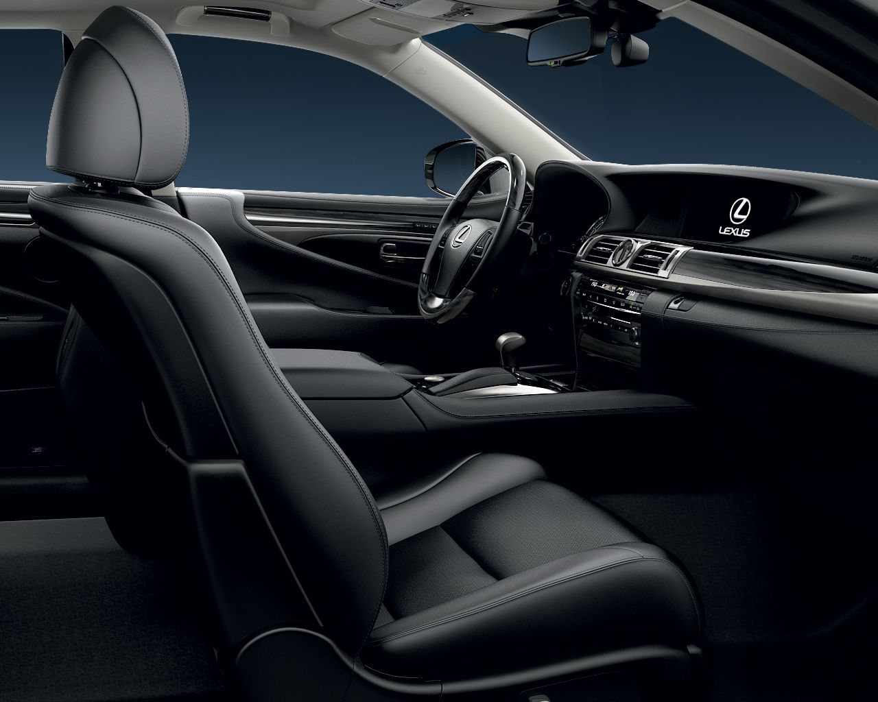 Inside, the new LS offers unmatched refinement. For ease