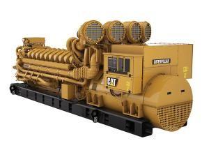 Caterpillar C175-20 (V20) Tier 4 Engine  Used in F125