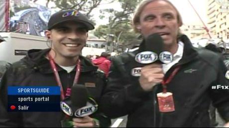 Pastor Maldonado volvió a la Fórmula 1 como comentarista Más información en http://bit.ly/1Wura1d
