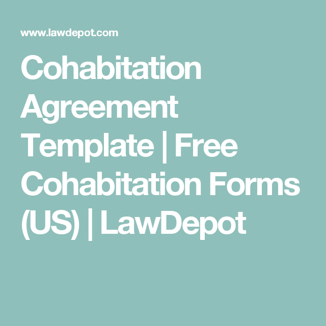 Cohabitation Agreement Template Free Cohabitation Forms Us