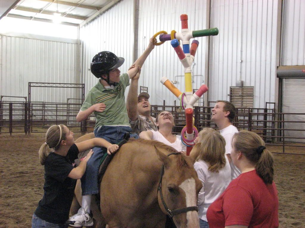 Garden state physical therapy - Playing Games In Hippotherapy Helping The Children Perform Stretches Without Realizing It Horse Gameshorse Therapyphysical