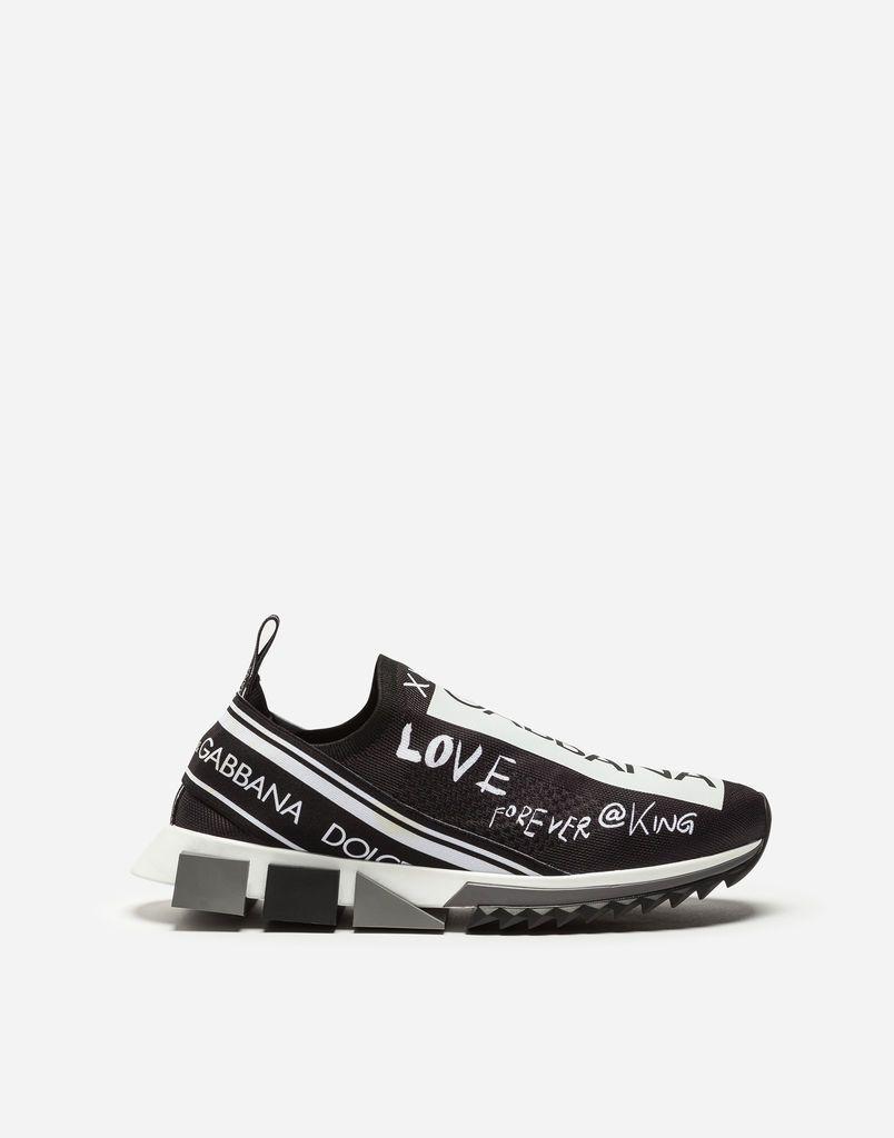 Men's Sneakers and Slip On. GRAFFITI PRINT SORRENTO SNEAKERS