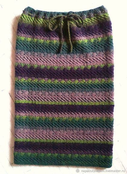 3dcfda8f23e Купить или заказать Шерстяная вязаная юбка