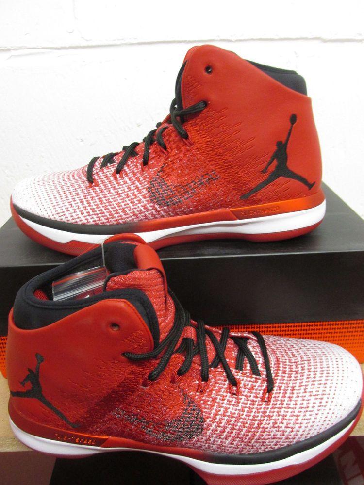 f102d78aa939 Nike Air Jordan XXXI Mens Hi Top Basketball Trainers 845037 600 Sneakers  Shoes (eBay Link)