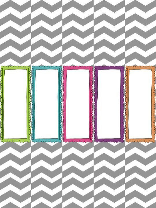 Organization Freebie Printable - Binder Cover And Spine, To-Do