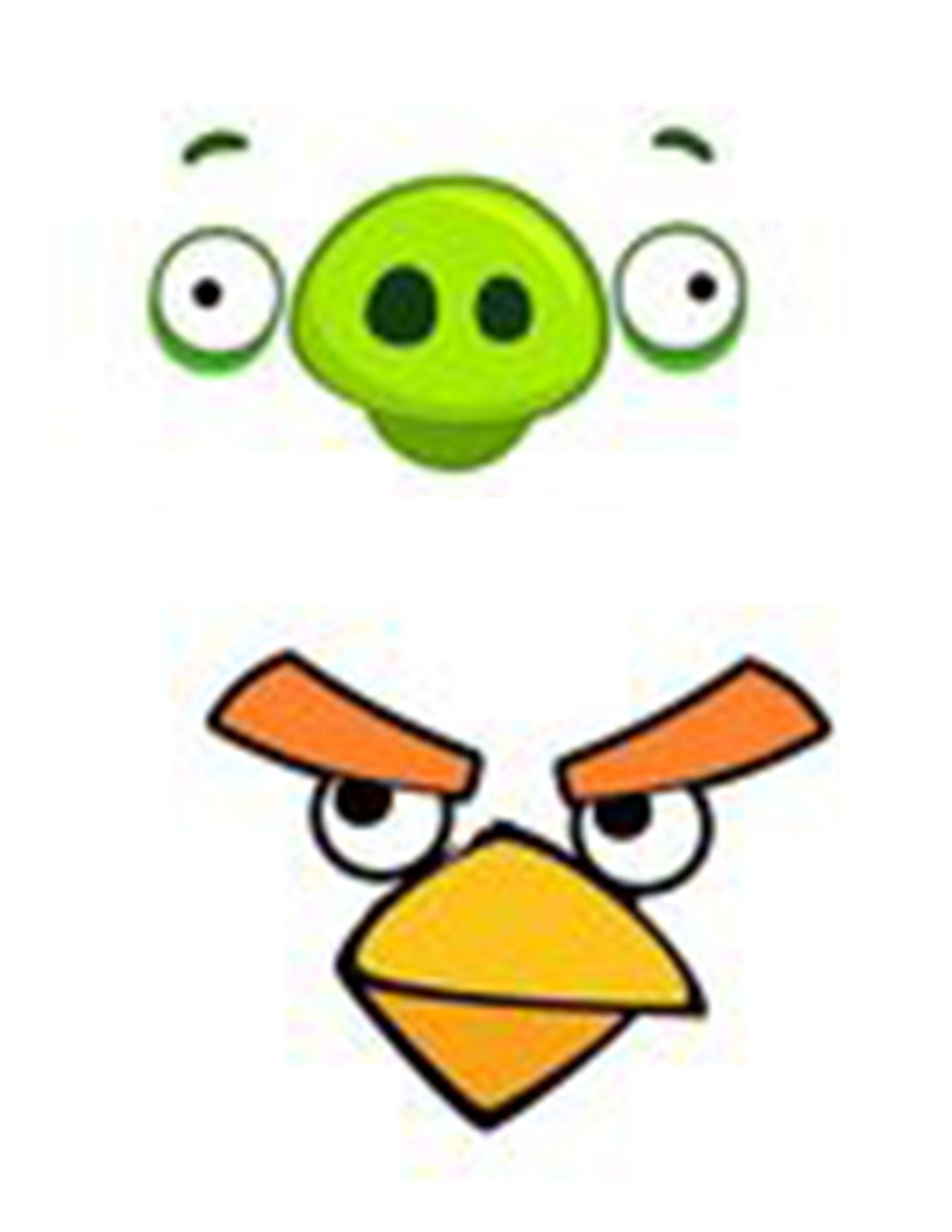 Awesome Angry Birds Party Free Printables