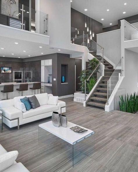 Designer Wohnzimmer - die Ihnen eine Vorstellung verschaffen werden - hi tech loft wohnung loft dethier architecture