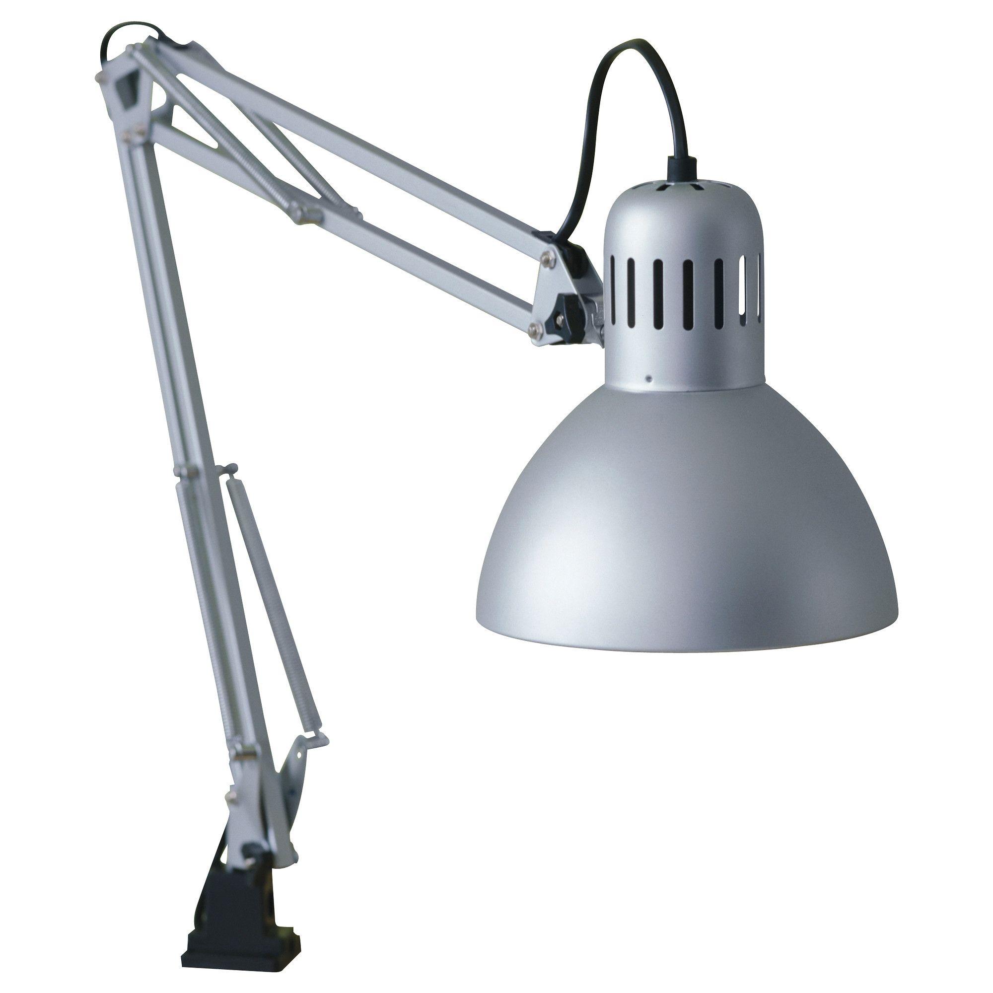 Desk Work Lamp: TERTIAL Work lamp - IKEA $15 Study lamp on drop-leaf desk,Lighting