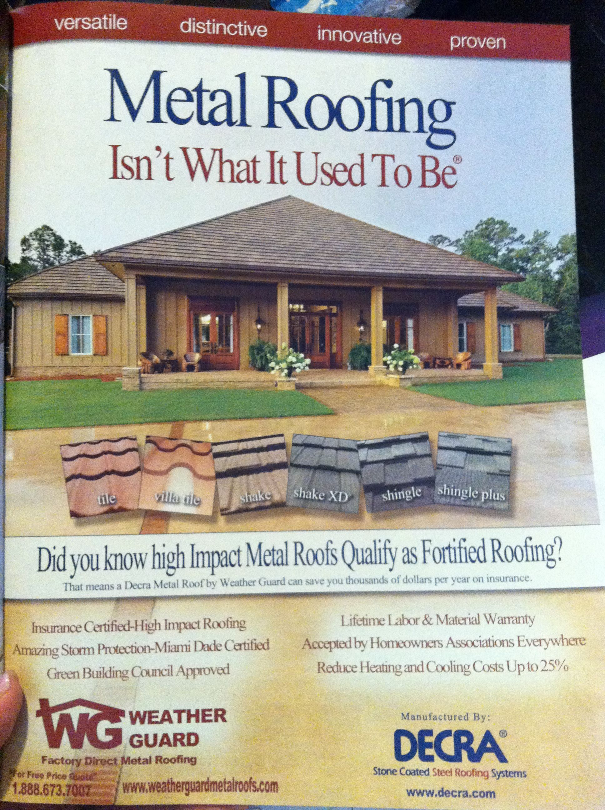 Metal roofing options nice houses make me smile pinterest roofing options roof design and - Options for roof remodeling ...