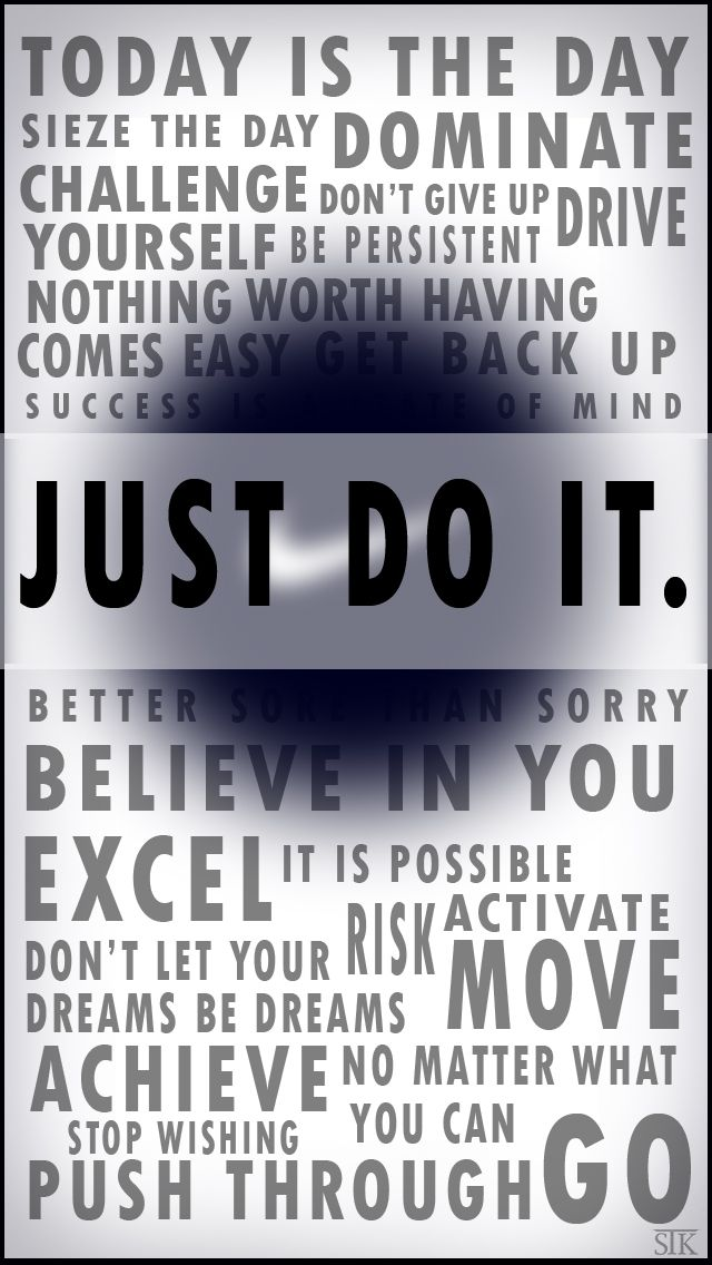 Nike Just Do It Iphone 5 Wallpaper Just Do It Positive Quotes Just Do It Wallpapers