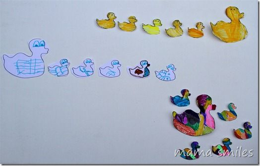 Free Five Little Ducks Printable Nursery Rhyme Activities