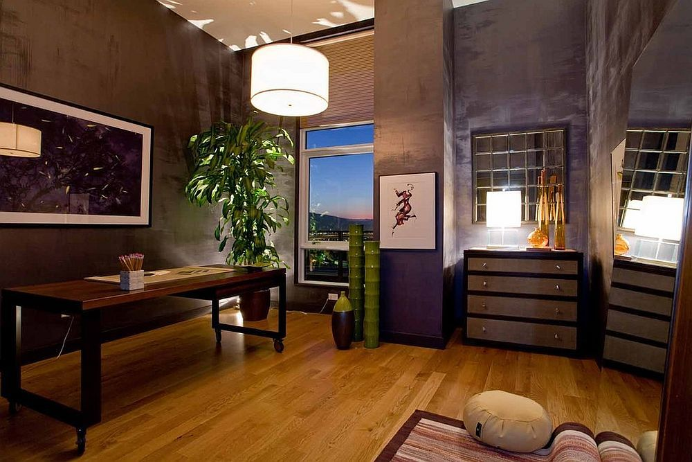 Home Office Meditation Room