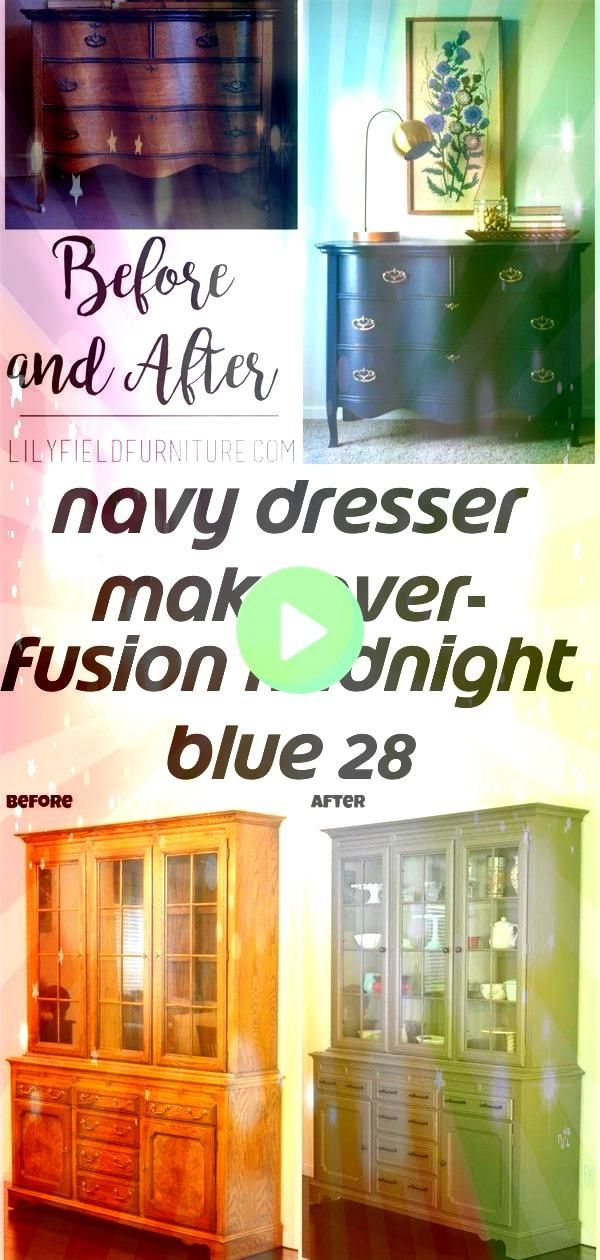 dresser makeover fusion midnight blue 28 Navy Dresser Makeover Fusion Midnight Blue  Lily Field Co Jedes Ihrer Essenshäuser sollte wirklich einfach sein obwohl das n...