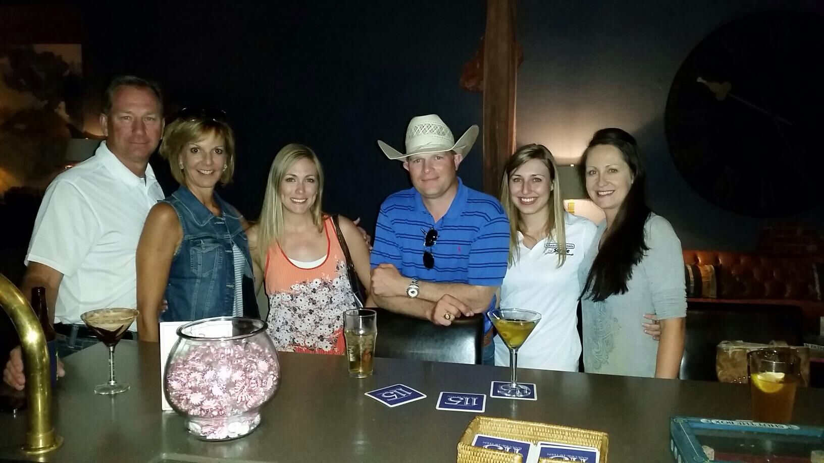 Great time w friends at bluebonnet.