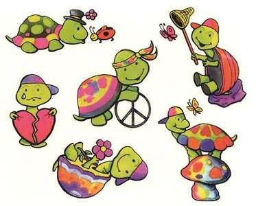 Turtle Cartoon Tattoos Designs | INKlings * | Pinterest | Cartoon ...