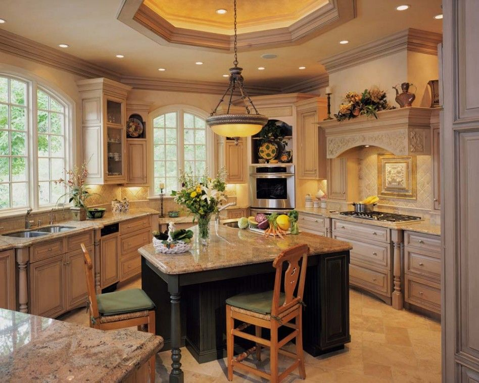 Enter into a kitchen and be amazed at a stunning design ...