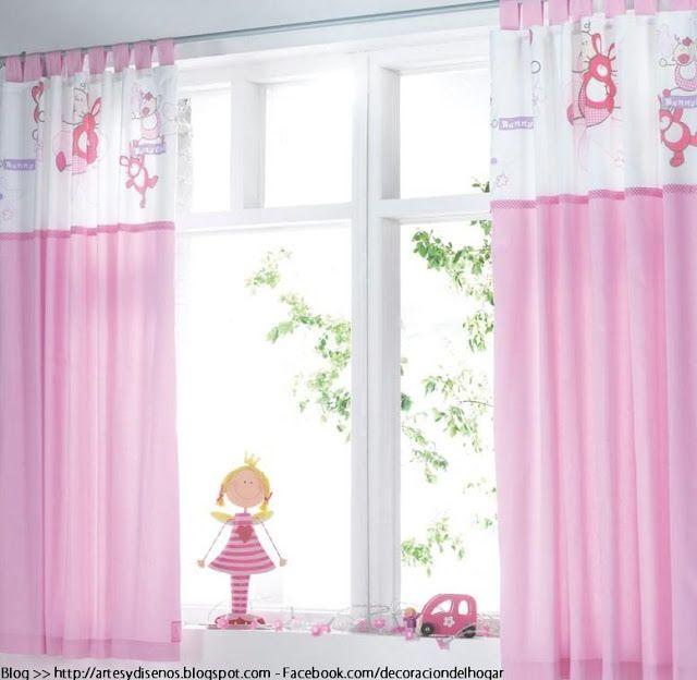 Cortinas para dormitorios de bebes by decoraci n cortinas - Decoracion cortinas dormitorio ...