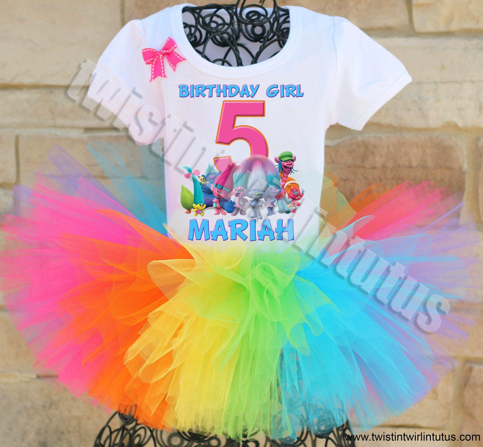 13365824d214 Trolls Birthday Shirt Family Set | Trolls Party For Zaira Bday. | My ...
