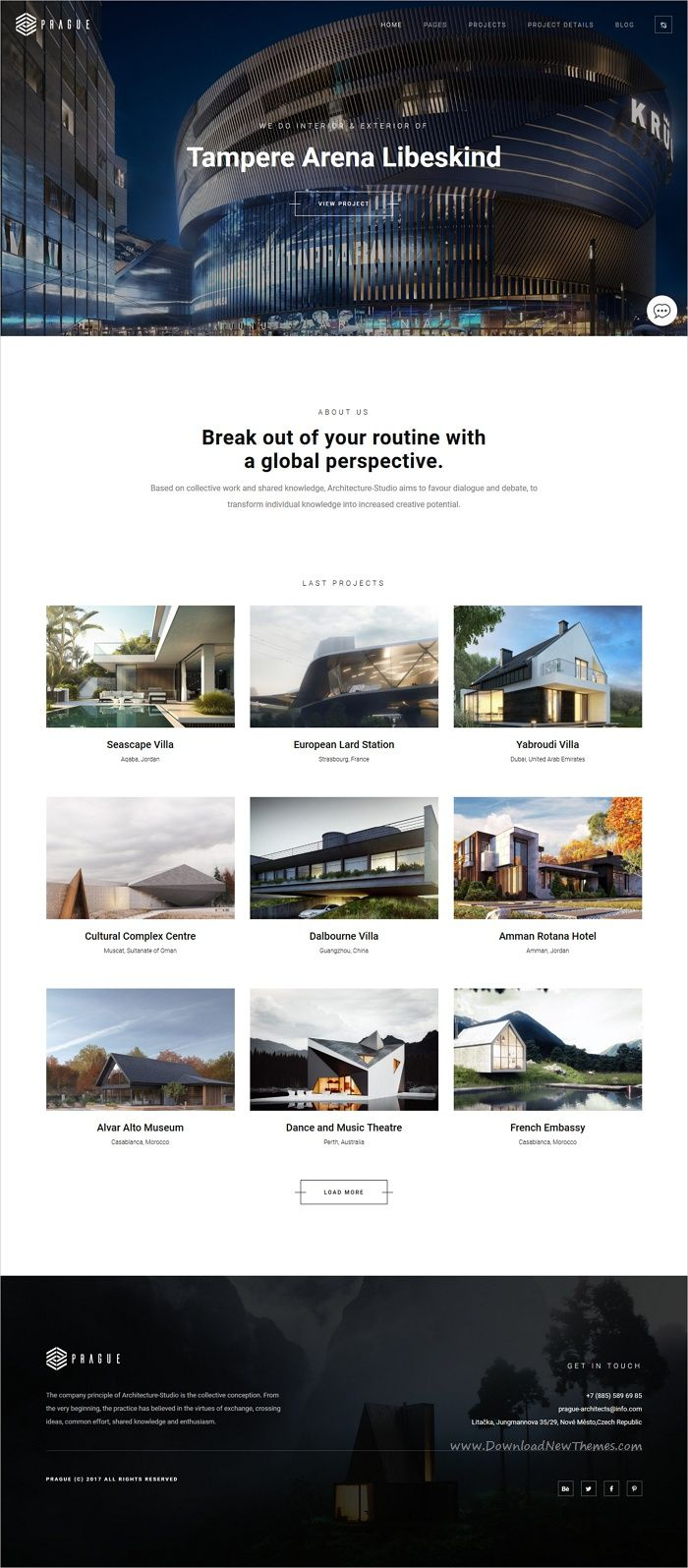 Architecture | Prague WordPress Architecture | Interior design ...